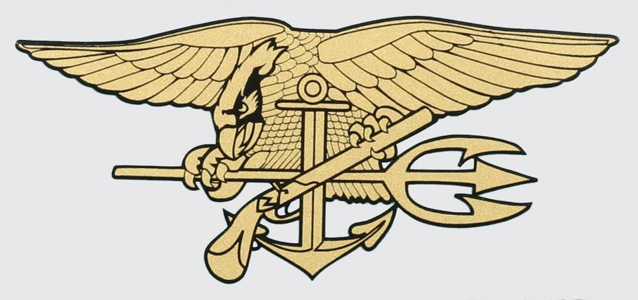 Navy Seal Trident Decal.