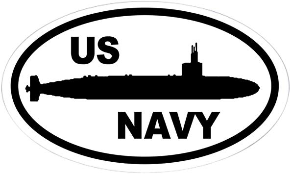 Amazon.com: CafePress Navy Submarine Oval Sticker Oval.
