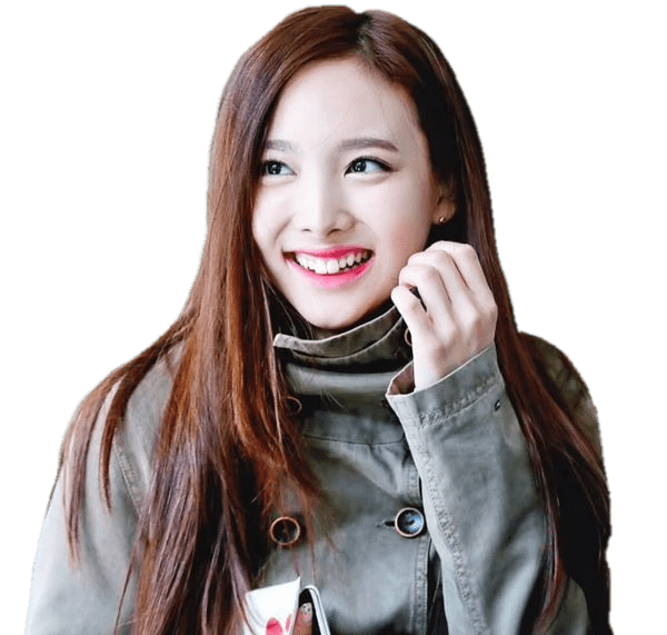 Twice Nayeon Big Smile transparent PNG.