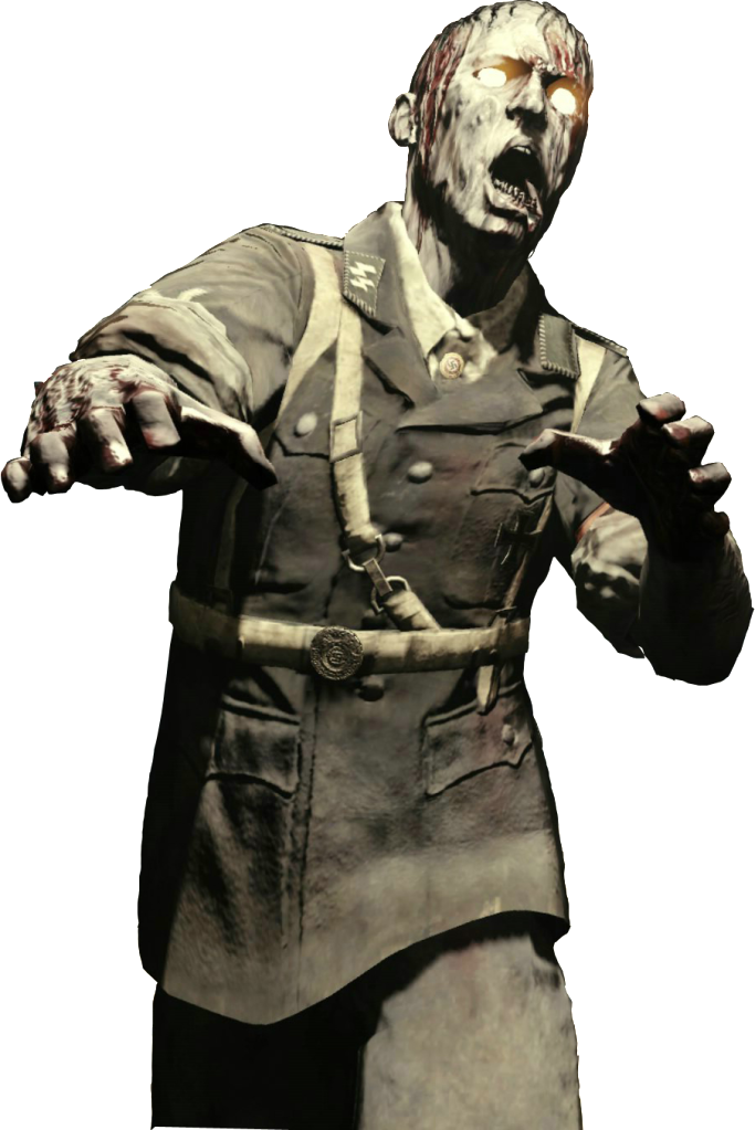 HD Zombies Cod Png.