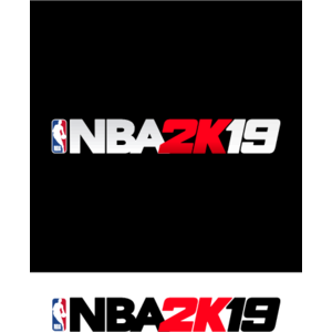NBA 2K19 logo, Vector Logo of NBA 2K19 brand free download.