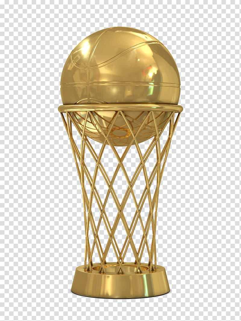 Gold basketball trophy, The NBA Finals National Basketball.