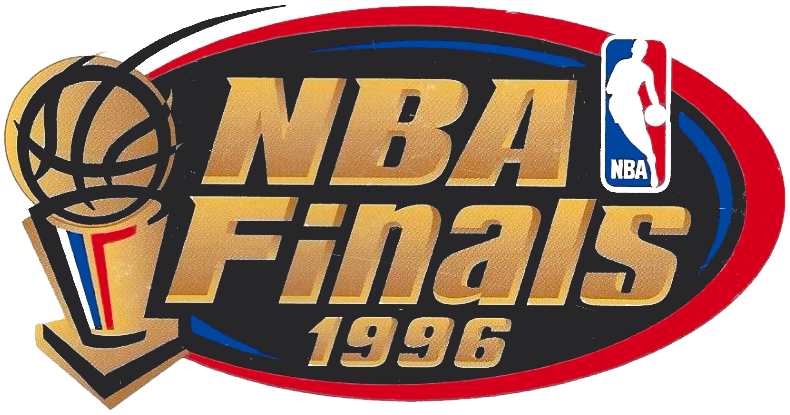 NBA Playoffs Champion Logo (1995/96).
