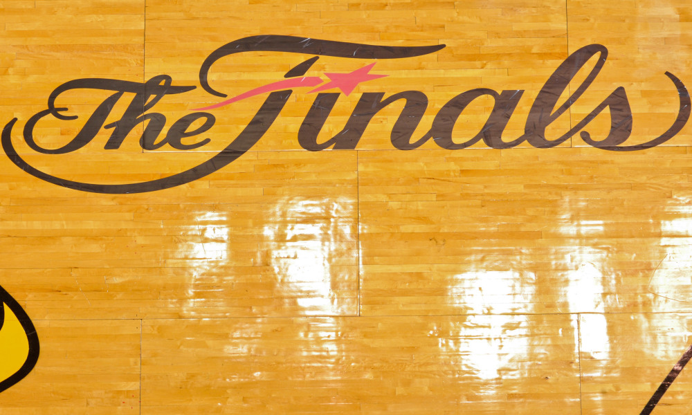 NBA Finals: Fans upset that old Finals logo isn\'t on court.