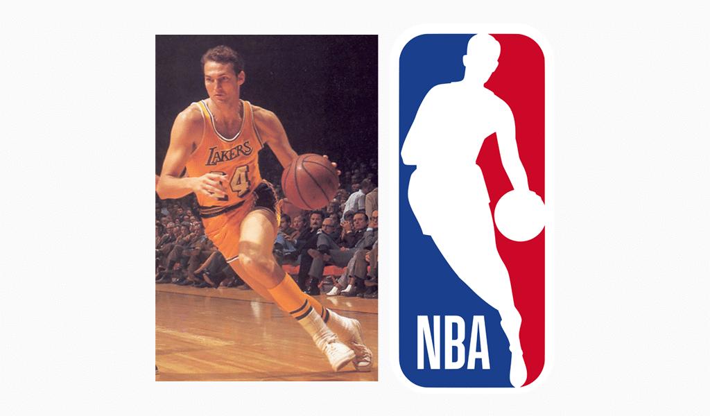 The history of the NBA logo.