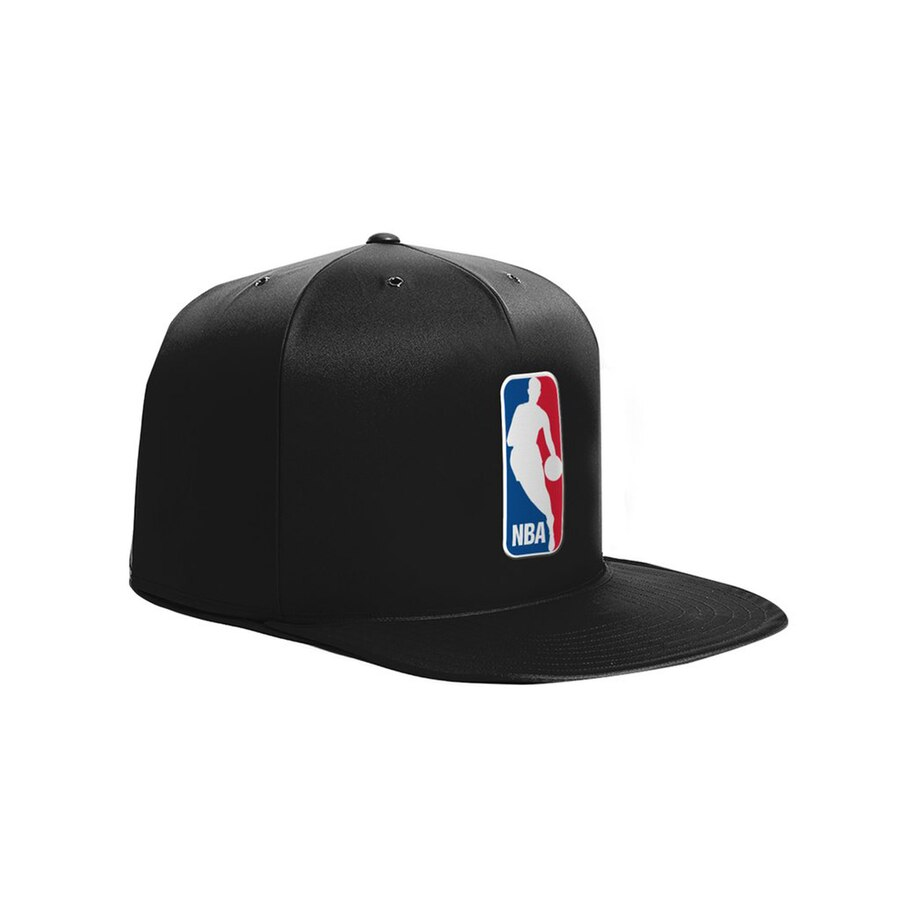 NBA Logo Black Medium Pet Nap Cap.