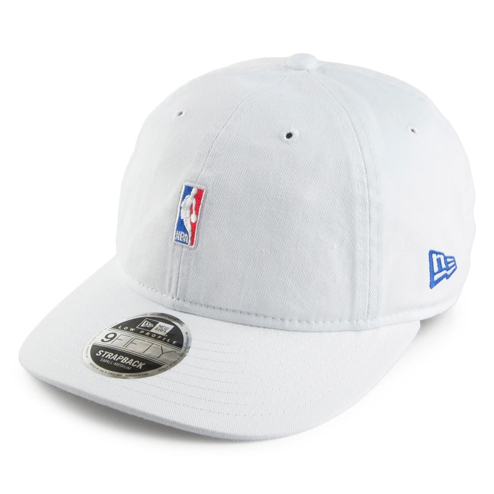 New Era 9FIFTY NBA Logo Strapback Cap.
