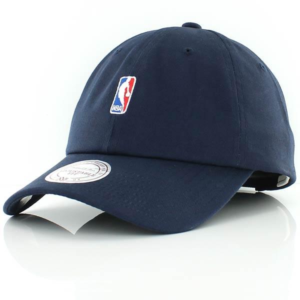mitchell and ness NBA LOGO LOW PRO STRAPBACK navy bei KICKZ.com.
