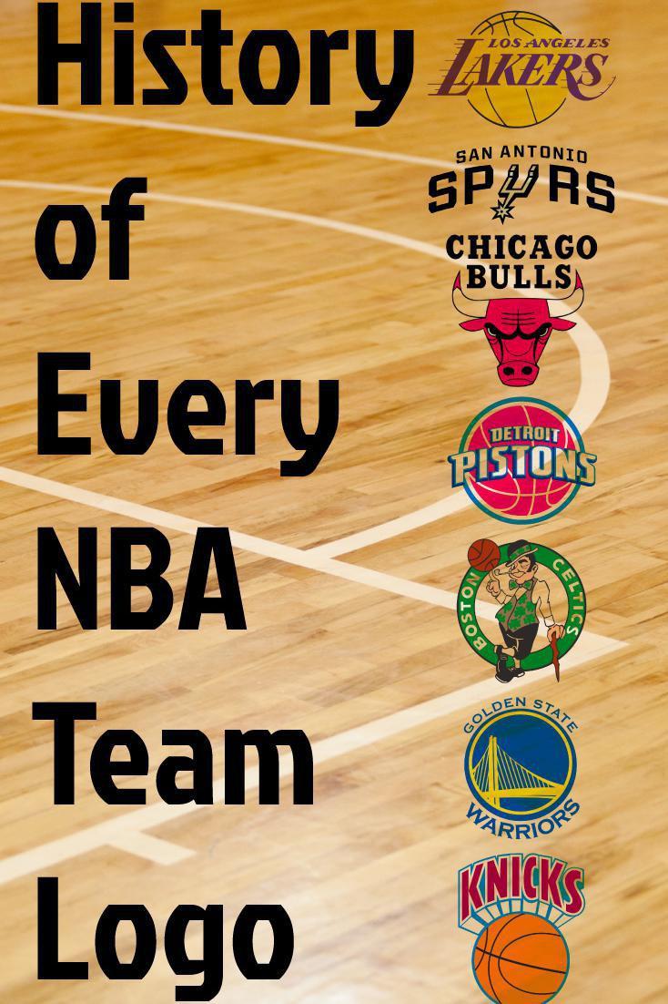 The History of All 30 NBA Team Logos.