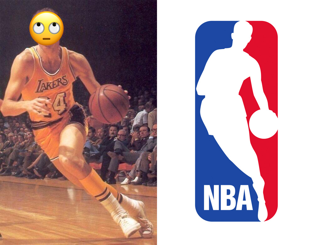 Brand New: Jerry West done Being NBA Logo.