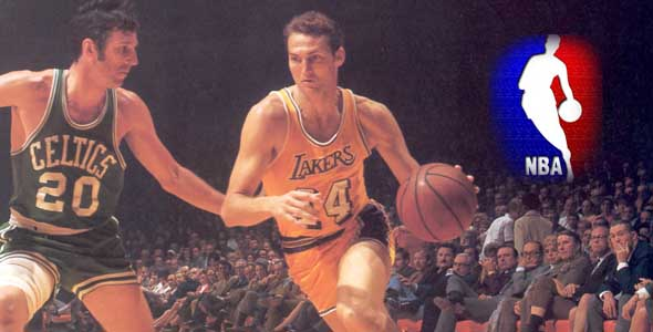 Honoring the Man Who Became the NBA Logo: Jerry West.