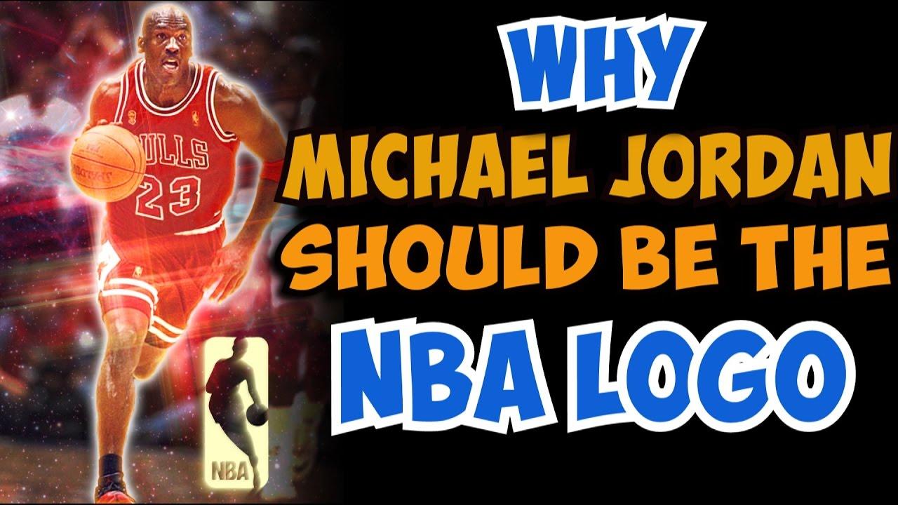 Why Michael Jordan SHOULD be the NBA LOGO!.
