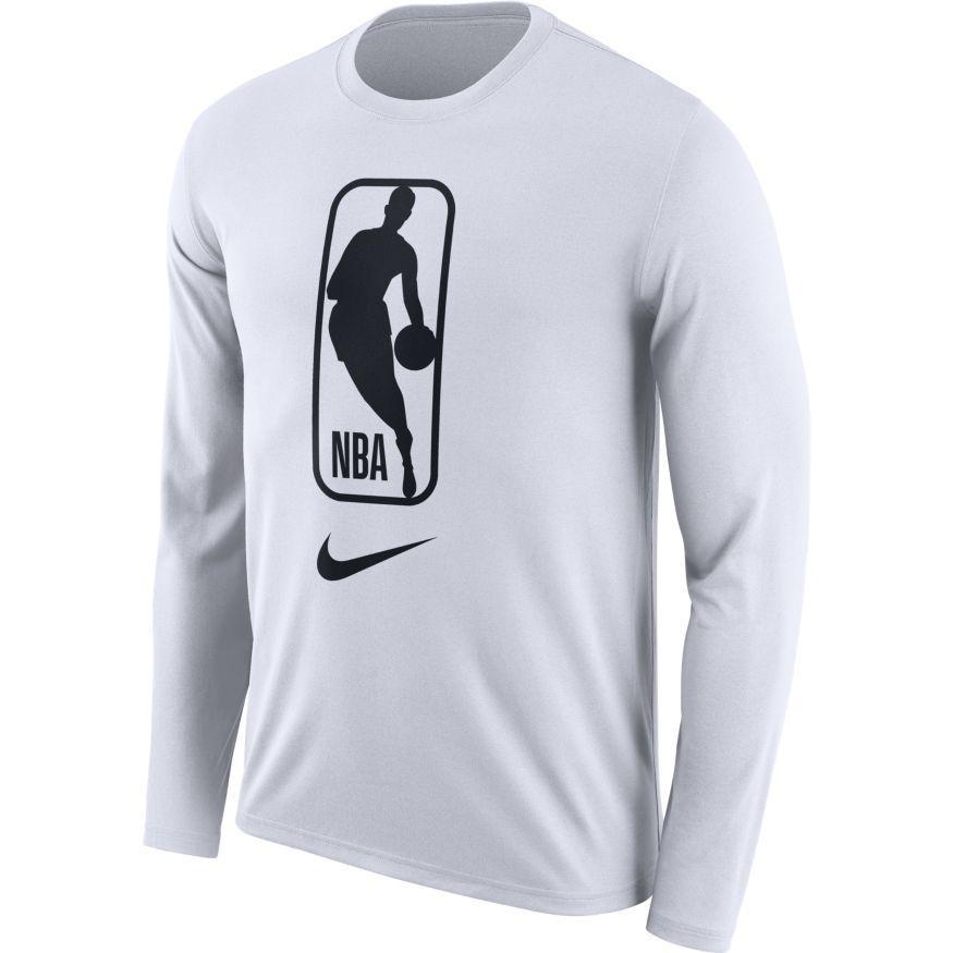 NBA Logo Long Sleeve Dri.