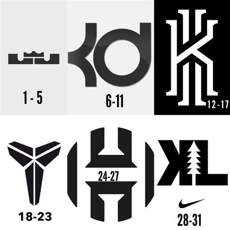 Basketball player Logos.