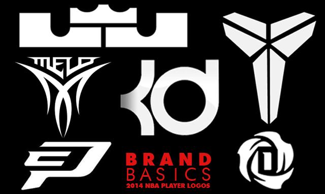 Brand Basics: 2014 NBA Player Logos.