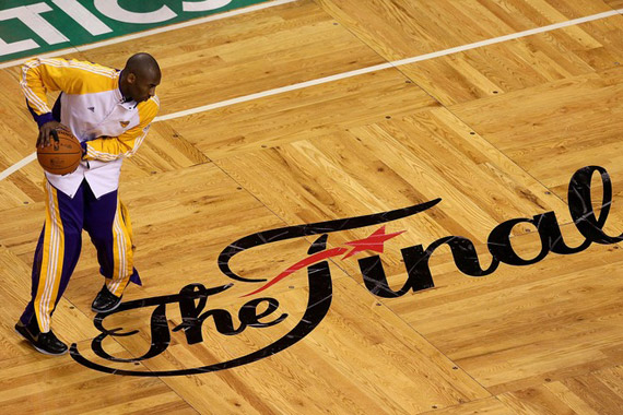 Why did they get rid of the Finals logo on the court? : nba.