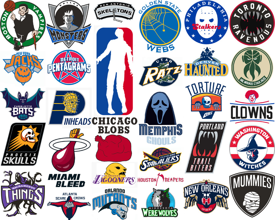 NBA Halloween Logos Quiz.