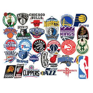 Details about NBA Team Logo Vinyl Die Cut Stickers CHOOSE YOUR TEAM.