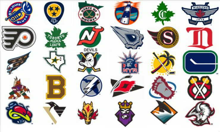 NHL Alternate Logos Quiz.