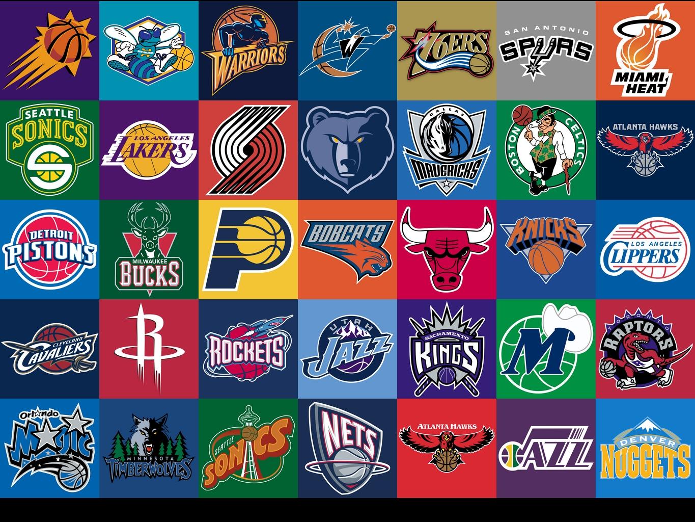 48+] NBA Team Logos Wallpaper on WallpaperSafari.