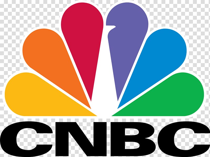 CNBC Logo of NBC Business News, Business transparent.