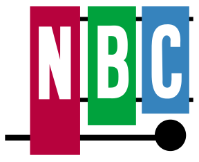 Logo of NBC.