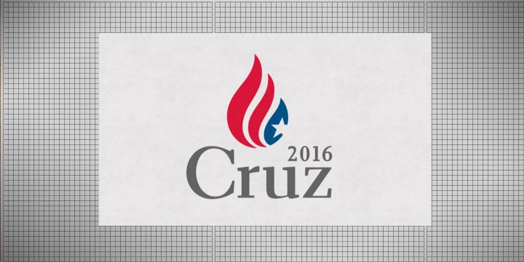 2016 Campaign Logos: Cruz\'s Burning Ambition.