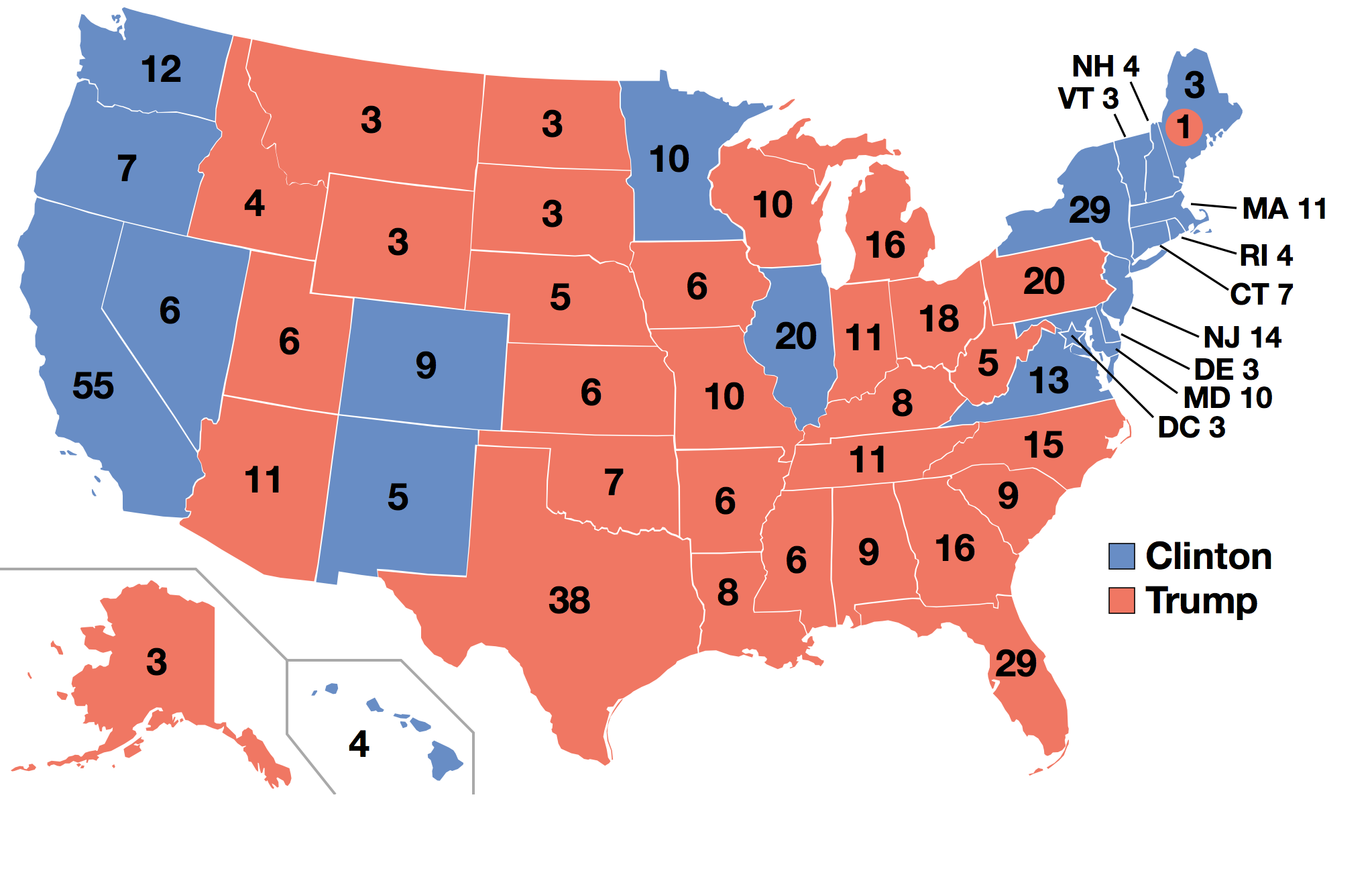 Behind the Numbers: The 2016 National Election Exit Poll.