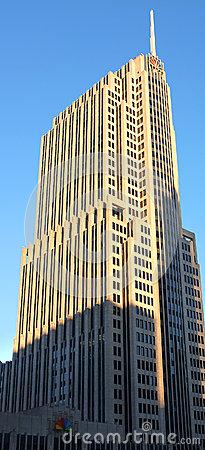 Facade Of NBC Tower, Chicago Editorial Stock Photo.