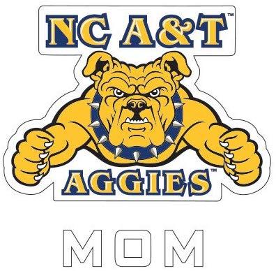 Amazon.com : CollegeFanGear North Carolina A&T Mom Decal \'NC.