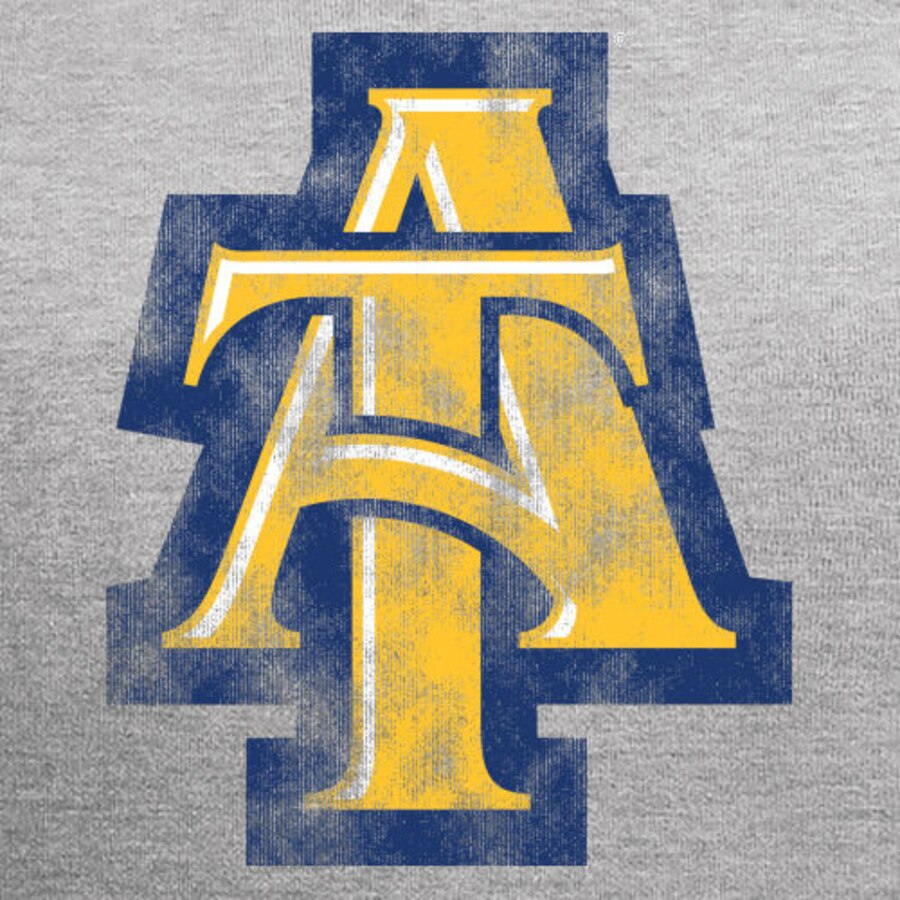 North Carolina A&T Aggies Classic Primary Logo Pullover Hoodie.