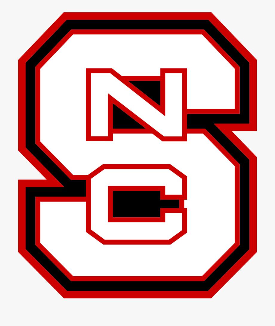 Nc State Wolfpack Block S Logo White.