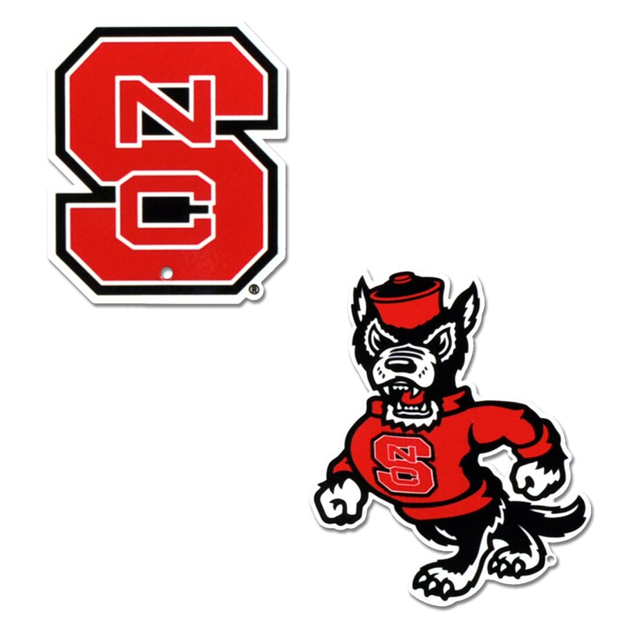 NC State Wolfpack Steel Magnet 2.