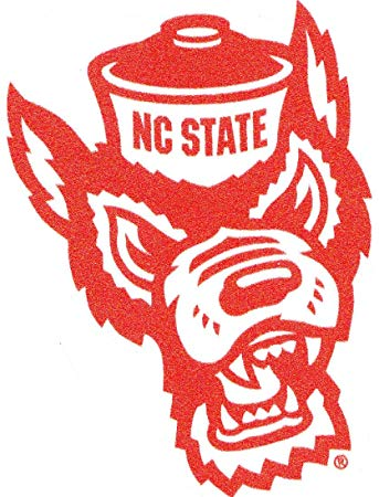 Amazon.com: 3 Inch Mr. Wuf North Carolina NC State.