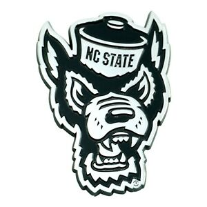Details about Fanmats NCAA NC State Wolfpack Diecast 3D Chrome Emblem Car  Truck 2.