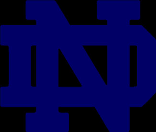 Ncaa Football Logo Notre Dame Football.