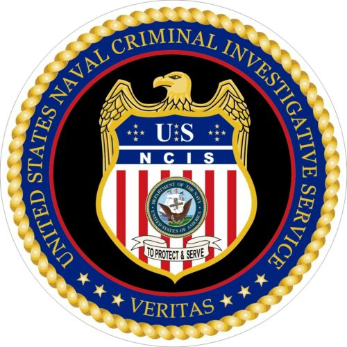 Details about U.S. NCIS Naval Criminal Investigative Service Logo Decals /  Stickers.