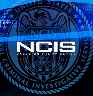 NCIS logo font.