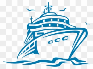 Sailboat Awful Cruise Ship Clip Art Image Design Ncl.