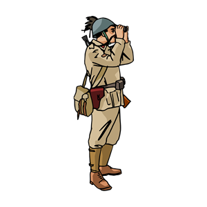 WW2 Italian soldier clipart, cliparts of WW2 Italian soldier free.