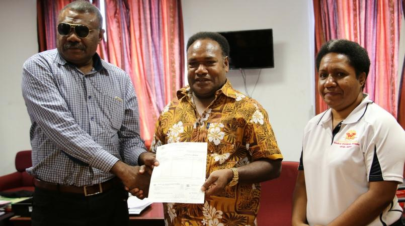 PNG Disable Board receives grant from NDOH.