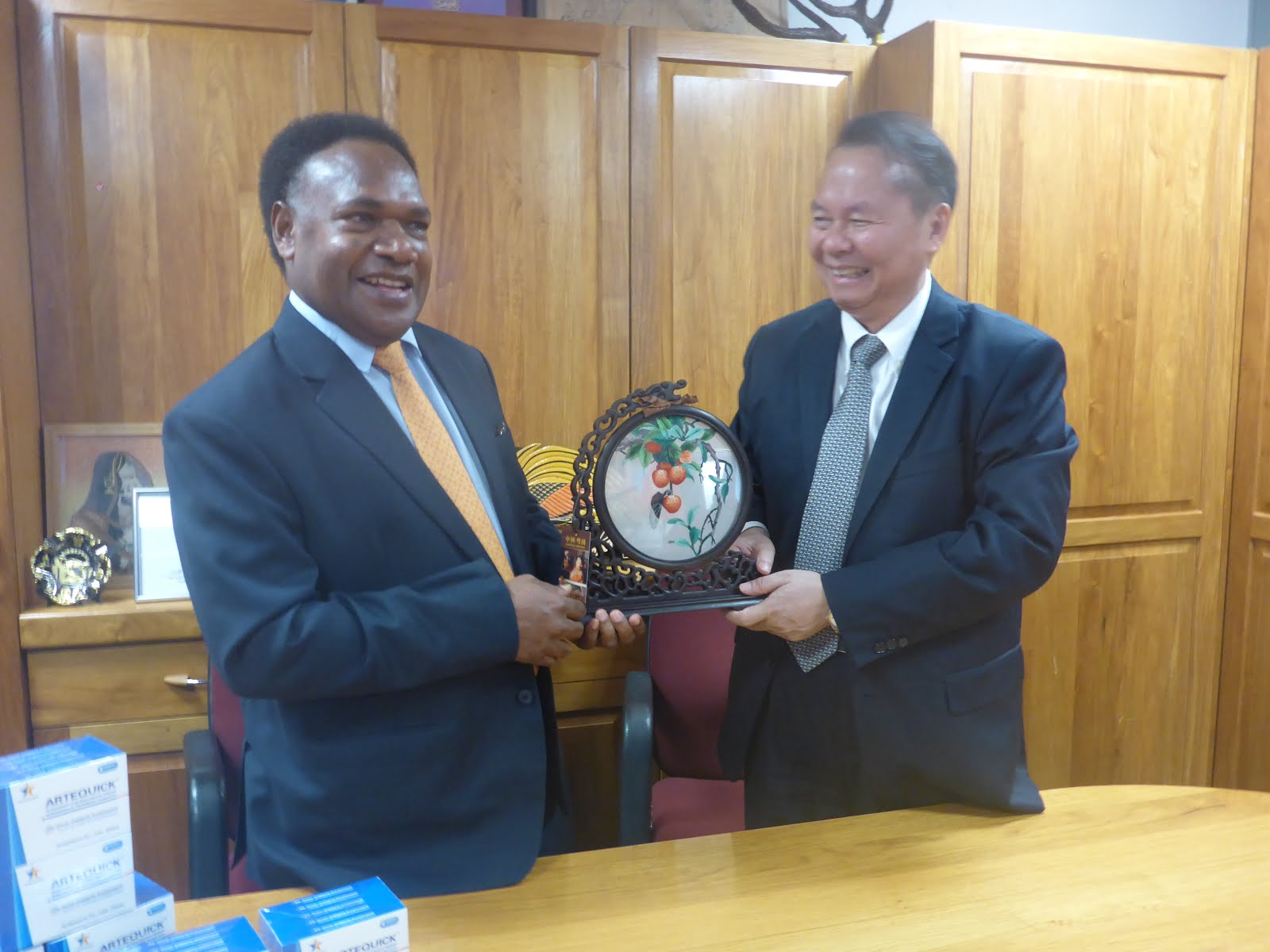 Malaria Elimination Program in place in PNG.