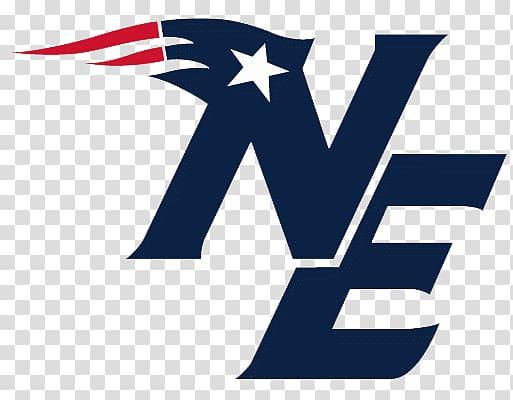 New England Patriots logo illustration, NE New England.
