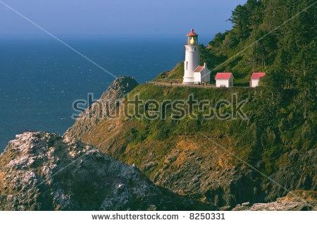 "oregon Coast Lighthouse"" Stock Photos, Royalty."