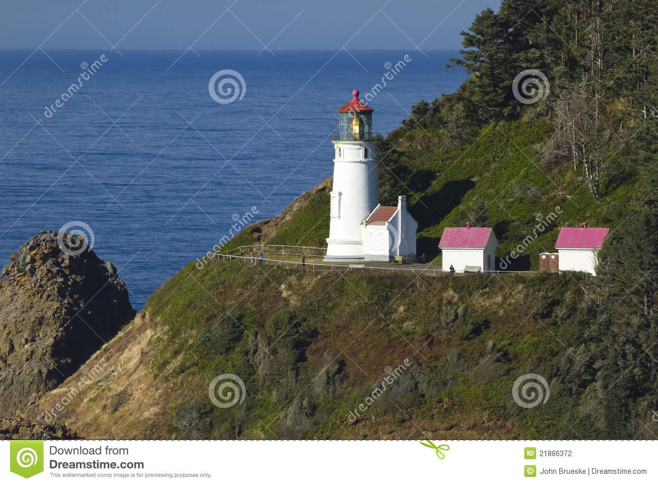 Heceta Head Lighthouse Stock Photography.