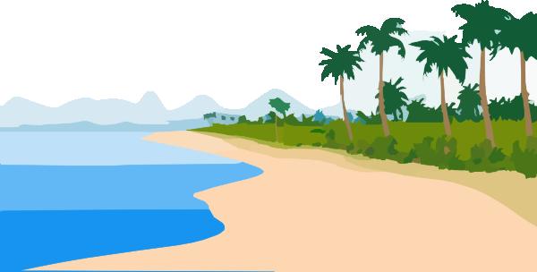 Beachfront Clip Art at Clker.com.