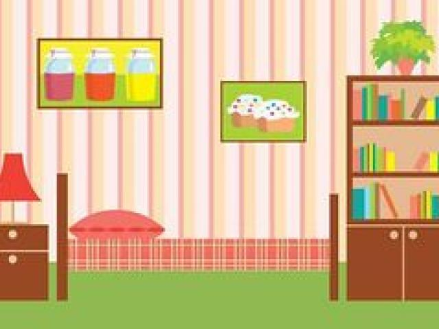 Neat Room Cliparts 5.