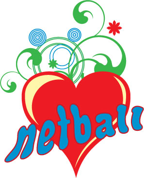 Netball clipart images.