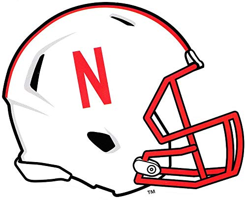 Amazon.com: 6 Inch Huskers Football Helmet University of.