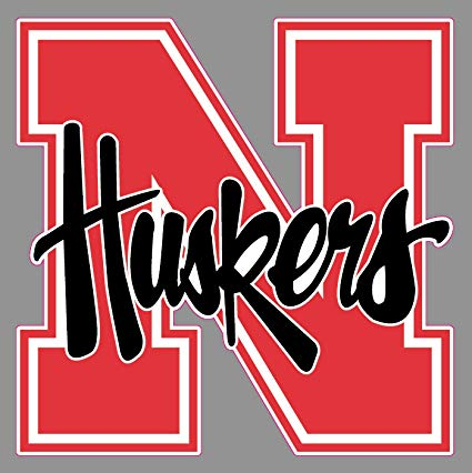 Edwin Group of Companies Nebraska Cornhuskers Decal Premium Vinyl 3 SIZES  Bumper Truck NCAA Nebraska Huskers Window Sticker (6 in.).